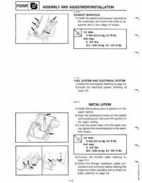 Yamaha Outboards 3P Service Manual, Page 48